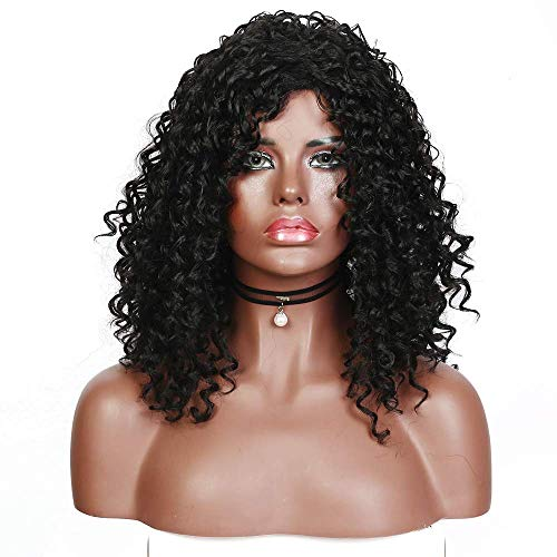 Afro Women Cosplay Wig Girls Middle Long Big