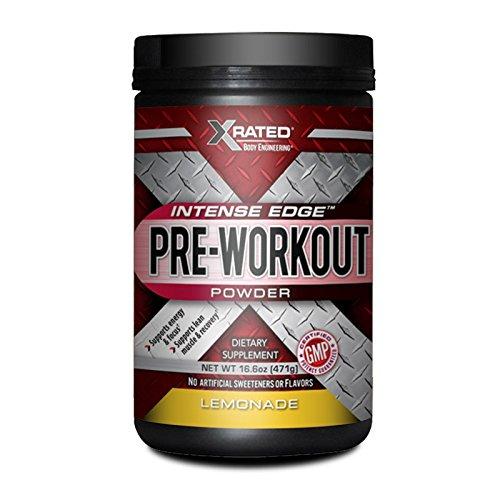 Xrated Body Engineering Intense Edge Pre-Workout - Lemonade (474 grams)