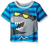 Gerber Graduates Baby Boys' Short Sleeve T-Shirt with Raised 3-D Back Applique
