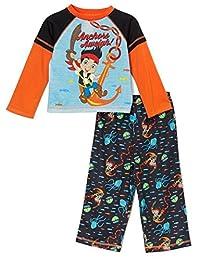 Jake the Pirate Long Sleeve Boys Pajama, Toddler Sizes 2T-4T