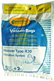Hoover Type R 30 Canister Vacuum Cleaner Bags, EnviroCare...