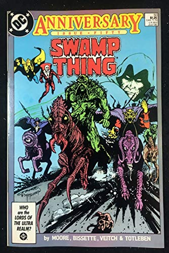 Swamp Thing (1982) #50 VF- (7.5) 1st full app Justice league Dark Alan Moore
