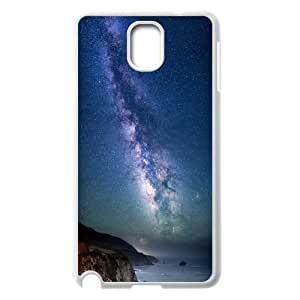 Milky Way over Sea Shore .png Samsung Galaxy Note 3 Case, Case Kweet {White}