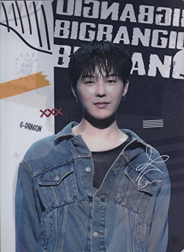 G-DRAGONジヨン/BIGBANGビッグバン写真付新クリアファイル韓国