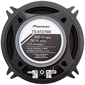"Pioneer TS-A1376R A-Series 5.25"" 300W 3-Way Speakers"
