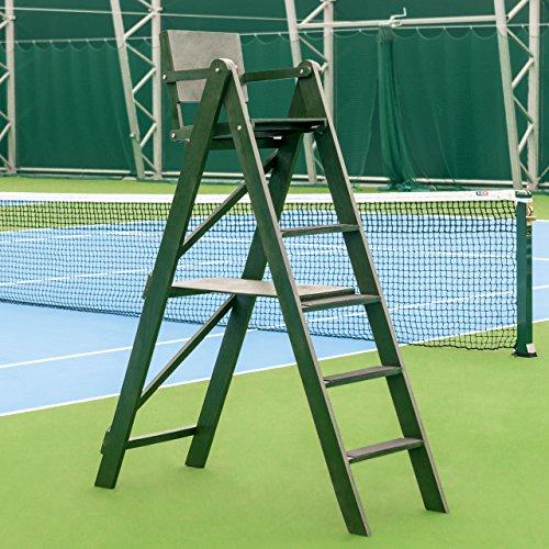 Chair Umpires Tennis (Net World Sports Traditional Wooden Tennis Umpires Chair)