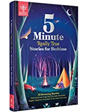 Britannica's 5-Minute Really True Stories for Bedtime: 30 Amazing Stories: Featuring frozen frogs, King Tut's beds, the world's biggest sleepover, the phases of the moon, and more