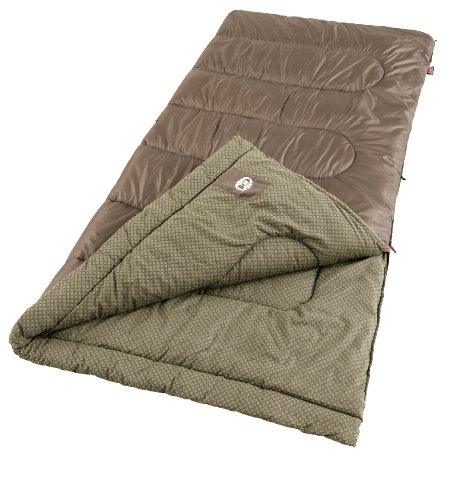 Coleman Oak Point Large Cool-Weather Sleeping Bag, Outdoor Stuffs