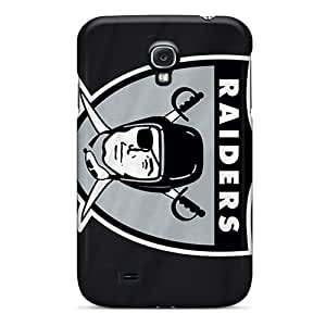 AaronBlanchette Samsung Galaxy S4 Perfect Cell-phone Hard Cover Provide Private Custom Nice Oakland Raiders Skin [DVX13817vMNn]