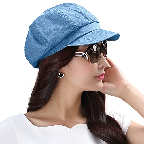 c4ee6159f42aa SIGGI Womens Visor Beret Newsboy Hat Cap for Ladies Merino Wool ...