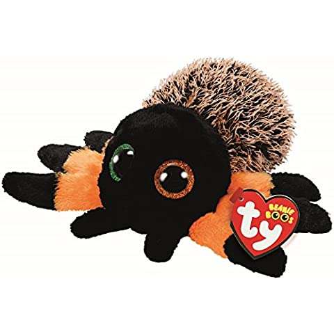 ce6ded692a1 Ty Beanie Boos 36855 Hairy the Orange Spider Boo