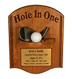 Hole-In-One Plaque with Iron & Free Engraved Plate