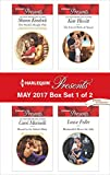 img - for Harlequin Presents May 2017 - Box Set 1 of 2: The Sheikh's Bought Wife\Bound by the Sultan's Baby\The Forced Bride of Alazar\Blackmailed Down the Aisle book / textbook / text book