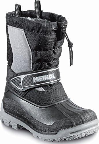 Meindl - Botas para niño negro/gris - negro/gris