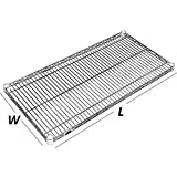 "Nexel Wire Shelf, Chrome Finish, 18""W x 48""L"