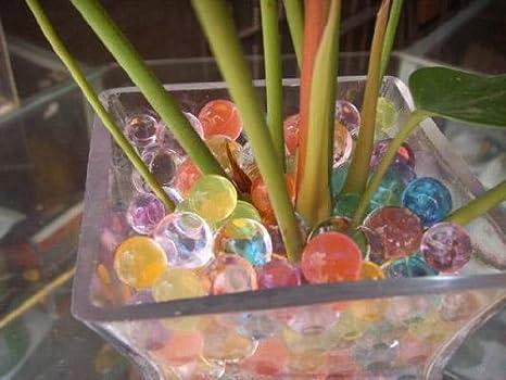 ジェリーボール マジッククリスタルボール ぷよぷよ 色レインボーカラーハイドロカルチャー観葉植物diy ガーデニング水耕栽培培養土類