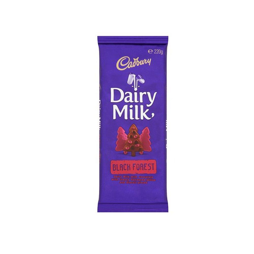 Cadbury Dairy Milk Black Forest Chocolate Bar-220g