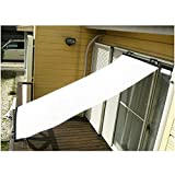Comolife UV & Solar Radiation Heat Protewction Sun Shade Blind , Size : L76.05 x W35.1 inches