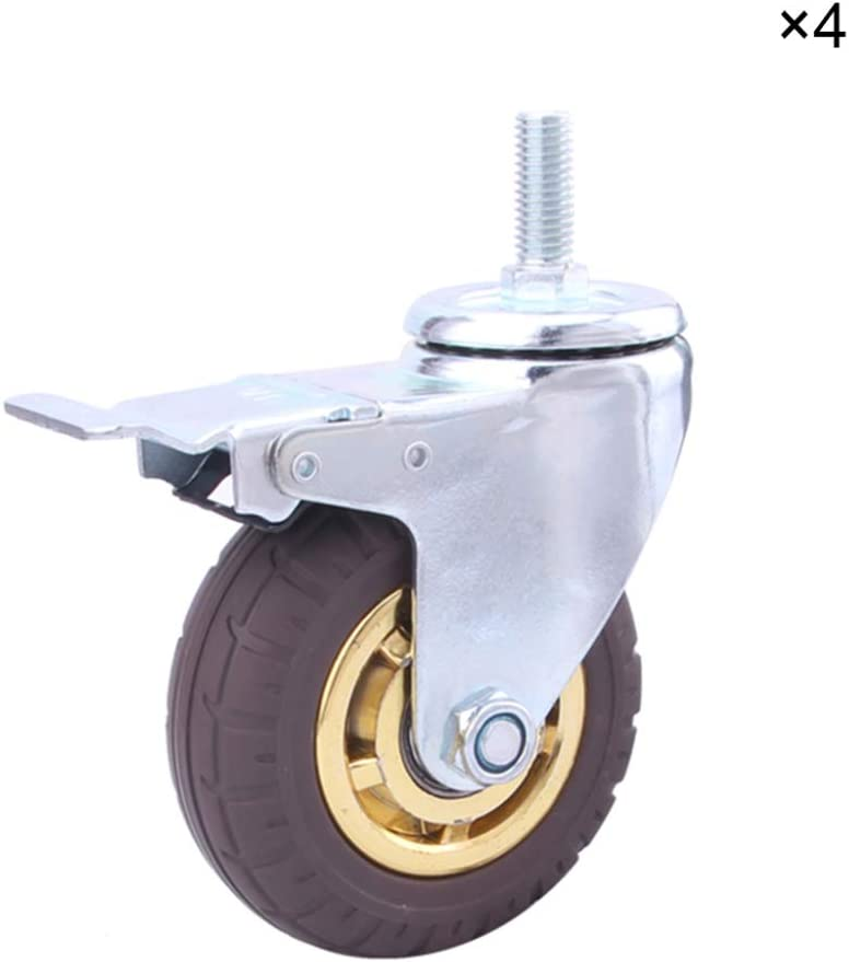 Wardrobe wheels castors