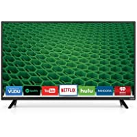 Vizio D43-D1 43-inch 1080p 120Hz LED Smart HDTV (Certified Refurbished)