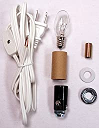 Creative Hobbies® ML2-B6 Small Christmas Tree Wiring Kit, Great For Lighting Small Objects