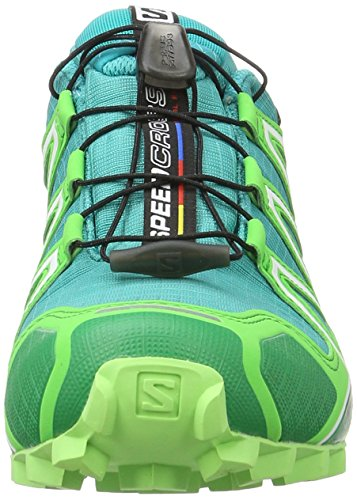 4 Green Bleu teal Salomon Trail fresh 49 F Noir Blue peppermint De 1 Eu Chaussures 3 Speedcross Femme 5PPqTBRx