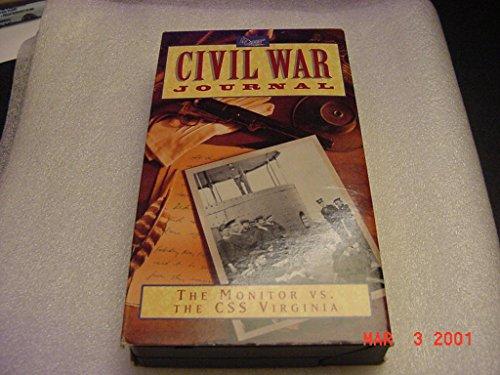 VHS Tape Video Of A &E CIVIL WAR JOURNAL The Monitor Vs. The CSS Virginia -- Merrimack