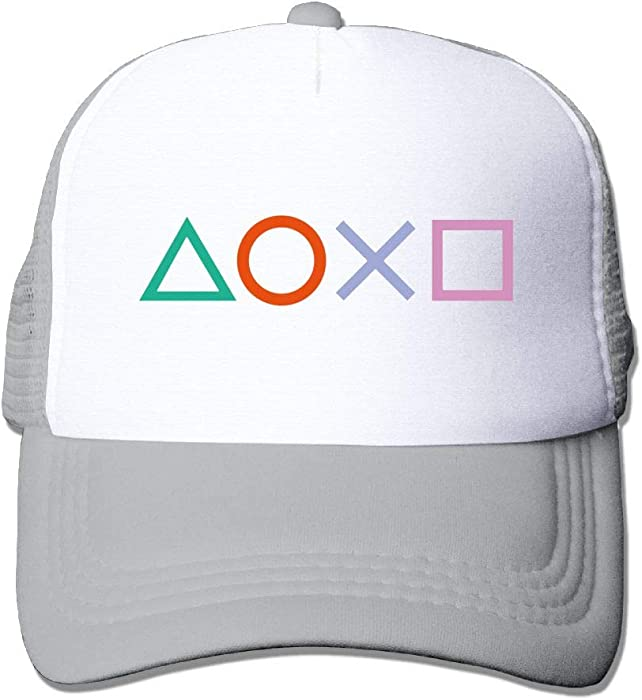 Unisex Baseball Cap Washed Dyed Cotton Playstation Button Dad Hat  Adjustable for Men Womens Youth Boys at Amazon Men s Clothing store  3fa0649145db