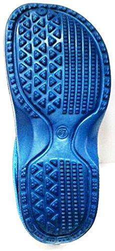 DEMA pantofole ciabatte crocs invernali unisex Art. 85 liscio PAVONE