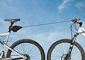 Bicyclebungee--Tandem Cycling on Two Bikes, Smooth Bike Tow, Ride With Your Kids!