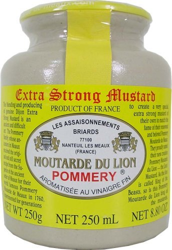 Pommery Moutarde Du Lion Extra Filtered King of Mustard (10 PACK)
