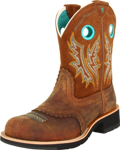 Ariat-Womens-Fatbaby-Cowgirl-Western-Cowboy-Boot