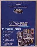 100 Ultra Pro Silver Series 9 Pocket Page (Box of Pages)