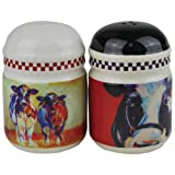 Westland Giftware Marcia Baldwin Cows Salt and Pepper Shakers