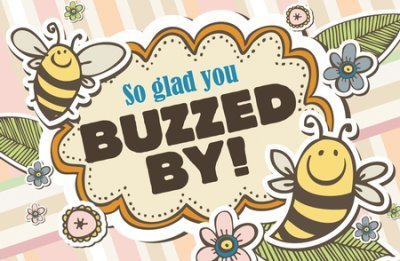 So Glad You Buzzed By! (1 Thessalonianss 5:18) Postcards, Pack of 25 (Kids Welcome Postcards)