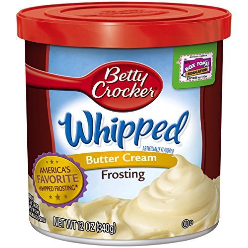 Betty Crocker Whipped Frosting Canister product image