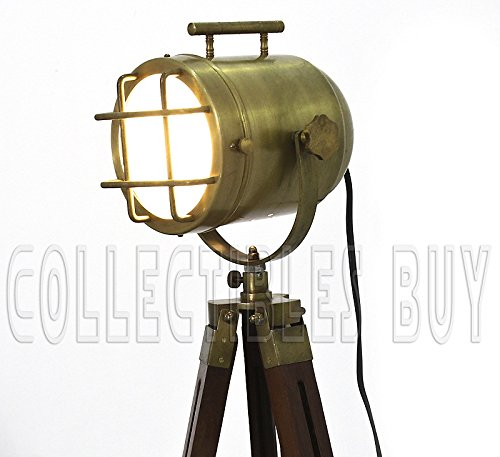 Brass Floor Lamp Amazon: Brass Vintage Look Lamps Home & Office Elegant Designer
