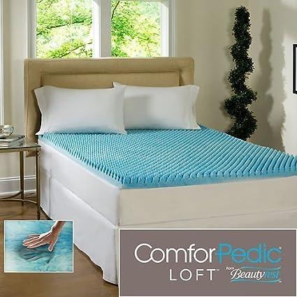 2 inch memory foam mattress topper queen Amazon.com: Beautyrest 2 inch Sculpted Gel Memory Foam Mattress  2 inch memory foam mattress topper queen