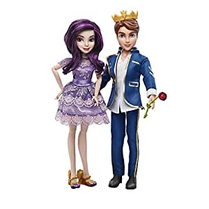 Disney Descendants Two-Pack Mal Isle of the Lost and Ben Auradon Prep Dolls by Disney Descendants