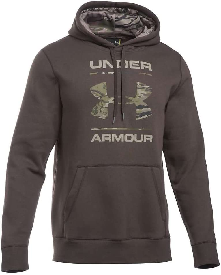 Under Armour Rival Camo Fill Logo Hoodie Mens