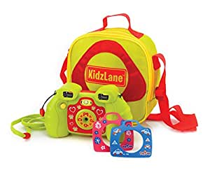 """5 in 1 Kids Digital Camera - Camera + Video Recording + Case + 3 Changeable Faceplates and Neck Ring. Add Cute Effects & Voice Recording to Photos - 7 Build-in Video Games – 2MP, 128MB Internal Memory, 4x Digital Zoom, 1.8"""" Color Screen, SD Card Slot, USB Port."""
