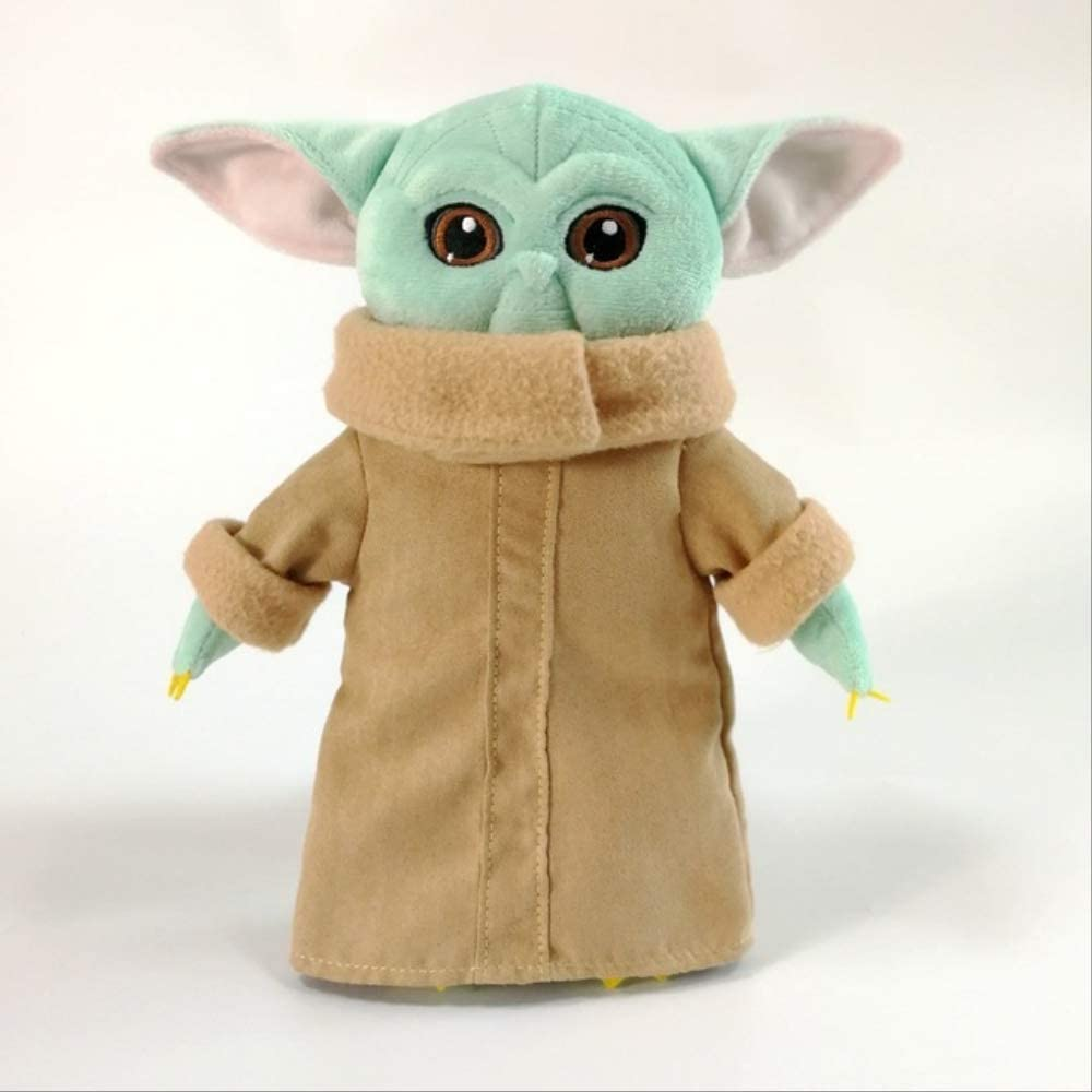 Frwe Disney The Mandalorian Star Wars Baby Yoda Plush Toys The Asset The Child Cartoon Plush Dolls 25cm Amazon Co Uk Kitchen Home