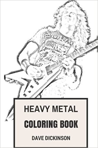 Heavy Metal Coloring Book: Classical British Steel and American ...