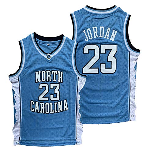 Michael 23 North Carolina Tar Heels College Stitched Basketball Jersey S-XXXL (Blue, Medium) ()