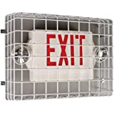 Safety Technology  International STI-9740 Exit Sign Damage Stopper, Protective Coated Steel Wire Guard