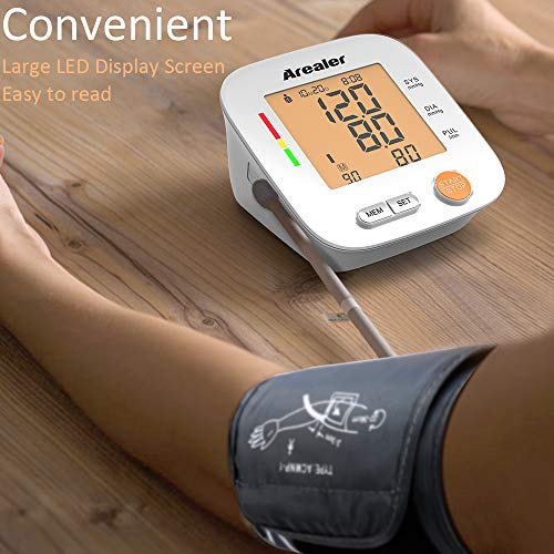 Buy home blood pressure monitor for large arms