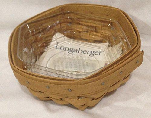 - Longaberger Baskets SAGE Booking Basket Warm Brown Stain