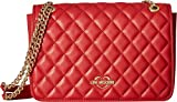 LOVE Moschino Women's Super Quilted Shoulder Bag Red One Size