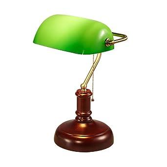 YHFX2Lámparas de escritorio Lámpara de mesa Art Deco Vintage ...
