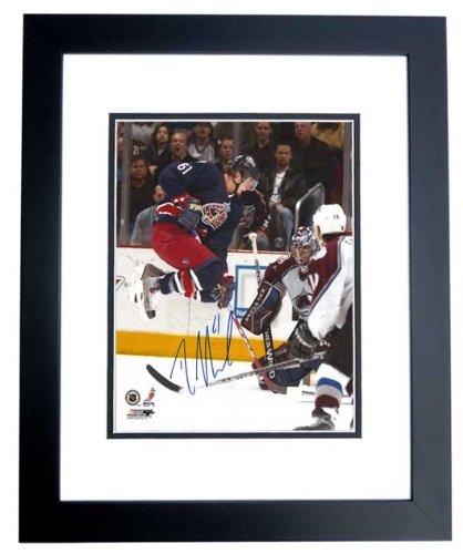Rick Nash Signed - Autographed Columbus Blue Jackets 8x10 inch Photo BLACK CUSTOM FRAME